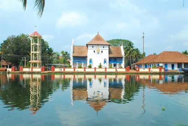 Triveny River Palace