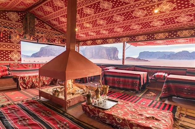 Tents with the Local Bedouin guide